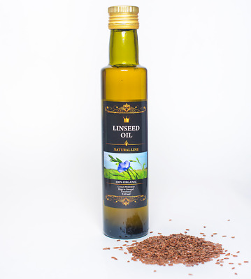 Fresh Cold Pressed Linseed Flaxseed Oil 250ml