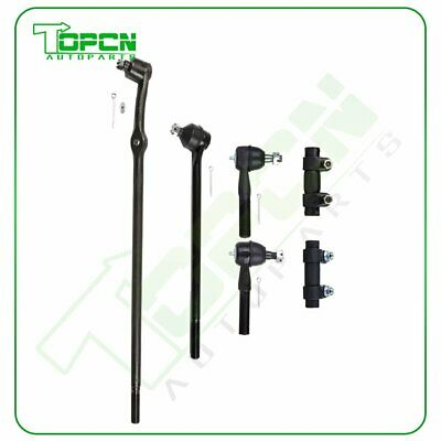 New 6Pcs Suspension Steering Tie Rod Ends Kit For Ford F-100 150 250 350 Bronco