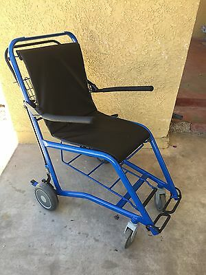 Staxi Medical Transport Chair 600 Lbs & Oxygen Tank Holder