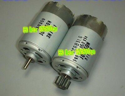1pcs DC12V 16000rpm high-speed 550 motor Power tool motor Model