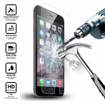 """New Premium Screen Protector Real Tempered Glass for Apple 5.5"""" iPhone 6 Plus"""
