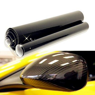 5D Auto Vinyl Film Sheets Car Sticker Carbon Fiber Membrane High Glossy Wrapping