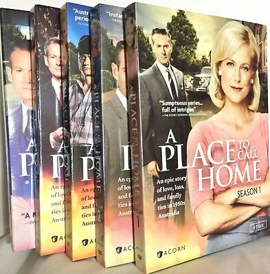 A Place To Call Home: The Complete Seasons 1-5 (17 DVDs)Ships Free With Tracking