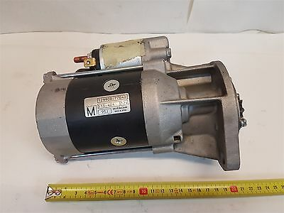 Hitachi 129900-77040 Starter S13-404 12V 93J suits Generator Good