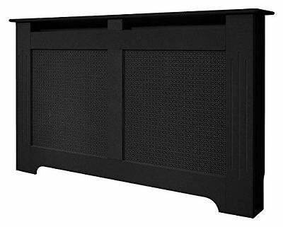 Adam Large Radiator Cover, 160 cm, Black