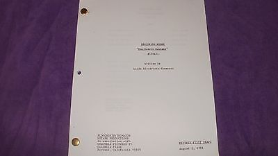 Designing Women Tv Script Beauty Contest Delta Burke - Dixie Carter - Jean Smart