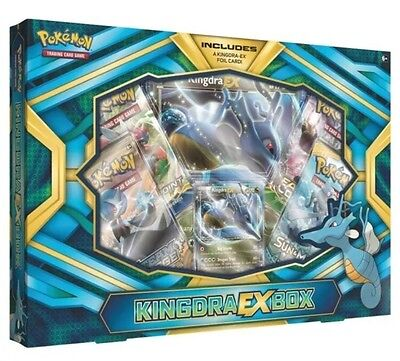 POKÉMON TCG Kingdra EX Box Trading Card  Brand New FREE EXPRESS POST SAME DAY
