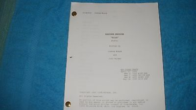 Northern Exposure Tv Pilot Script - John Corbett - Rob Morrow - Janine Turner