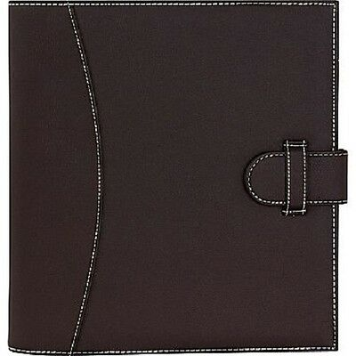 NEW! It's Academic Executive 1in. D-Ring Brown Binder 250 Sheet Capacity
