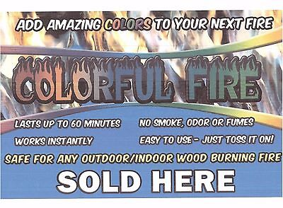 New Colourful Campfire 3 Pk - Add Colour To Your Fireplace For Effect