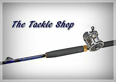 5ft 6in 25kg Roller Big Game Combo - Melaluka G60 20Kg Reel + Lutador 168-25 Rod