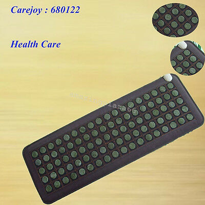 Carejoy Natural Jade Tourmaline Stones Infrared Heating Mat New Brand  CE