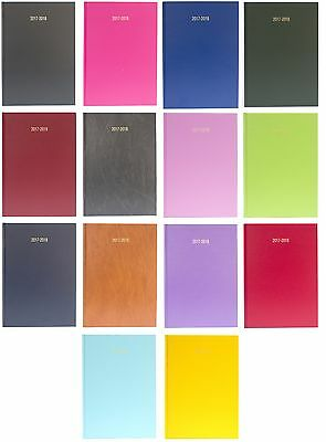 A4 Academic Diary 2017-2018 Day Page Appointments Teacher Planner - All Colours
