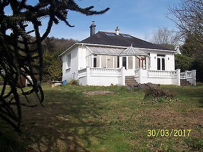 House & Land for sale in France with trout river,fishing/water skiing Brittany
