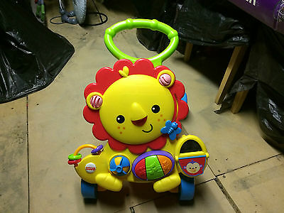 Fisher Price Musical Lion Baby Walker / Stroller