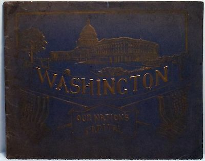 1907 WASHINGTON DC OUR NATION'S CAPITAL Photo Book History Government Buildings