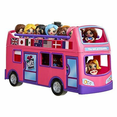 Gift Ems Tour Bus Playset Kids Girls Toy Play Set Brand new