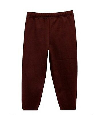 Boys Girls School Pe Jogging Bottoms Pants Bottoms Sport Tracksuit Trousers 3-12