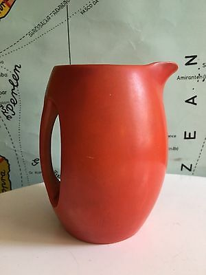 JAMES GREEN & NEPHEW Ltd..Orange Bar Jug, Great Design & Colour