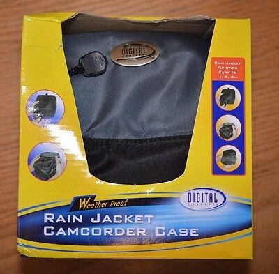 Lot Of 10 Camera/ Camcorder Cases With Rain Jacket