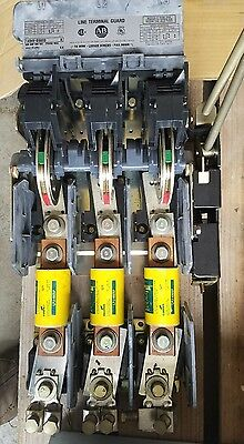 Allen Bradley Cat # 1494-Ds600 3 Ph 600Amp 600 V Disconnect Switch = Used