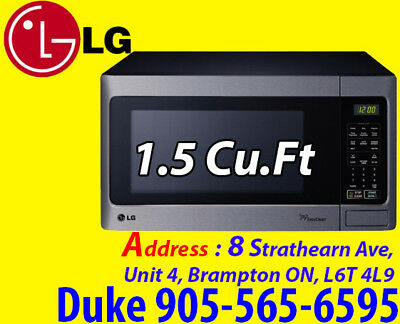 LG Countertop Microwave - 1.5 Cu. Ft. - Stainless Steel LMS1531ST
