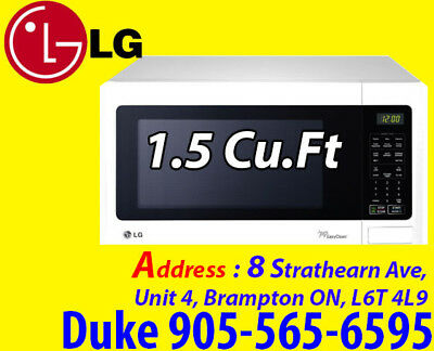 LG Countertop Microwave - 1.5 Cu. Ft. - White LMS1531SW