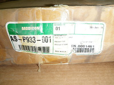 Modicon AEG AS-P933-001 984 HI PS ASP933001 NEW IN BOX