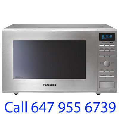 Panasonic 1.1 Cu.Ft.Grill Microwave (NNGD693S) - Stainless Steel