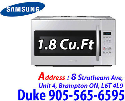 Samsung Over-The-Range Microwave - 1.8 Cu. Ft. - White ME18H704SFW