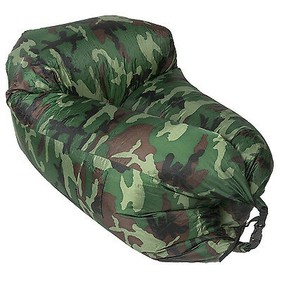 Lazy and Chill Pod Inflatable Chair. Ideal for Festivals and camping.