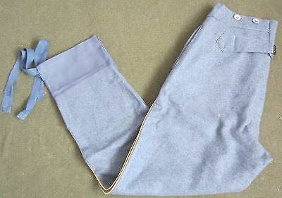 Wwi French M1915 Sky Blue Wool Trousers-Medium