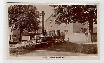 MARKET CROSS, ORMISTON: East Lothian postcard (C25898)