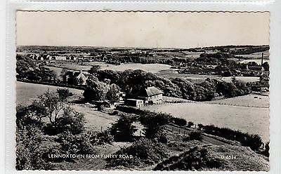 LENNOXTOWN FROM FINTRY ROAD: Stirlingshire postcard (C26279)