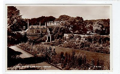 THE GARDENS, DIRLETON CASTLE: East Lothian postcard (C25815)