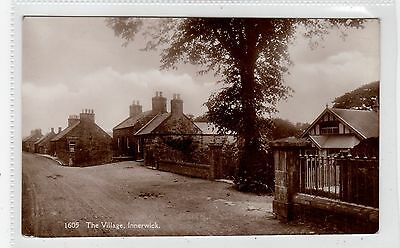 THE VILLAGE, INNERWICK: East Lothian postcard (C25901)
