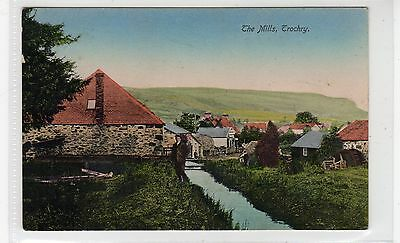THE MILLS, TROCHRY near DUNKELD: Perthshire postcard (C25941)