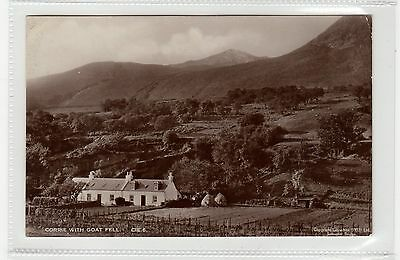 CORRIE WITH GOAT FELL: Isle of Arran postcard (C26421)