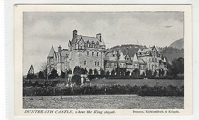 DUNTREATH CASTLE, BLANEFIELD: Stirlingshire postcard (C26085)