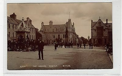 THE SQUARE, HUNTLY: Aberdeenshire postcard (C25720)