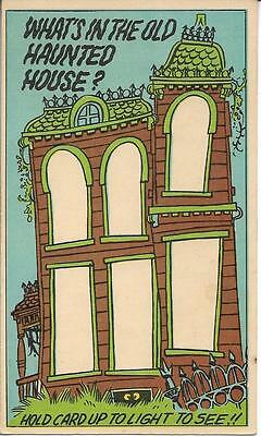 "1970 Topps HAUNTED HOUSE Funny Doors 3"" x 5 1/2"" card # 38 Test Issue?  SCARCE"