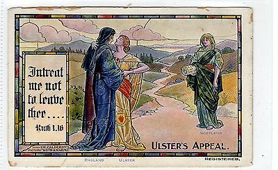 ULSTER'S APPEAL: Political postcard (C25824)