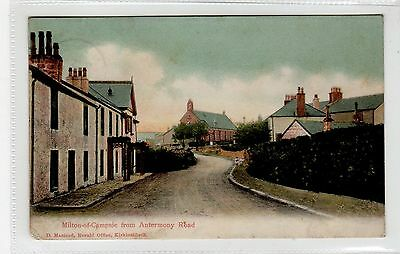 MILTON OF CAMPSIE FROM ANTERMONY ROAD: Stirlingshire postcard (C26194)