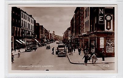 O'CONNELL STREET, LIMERICK: Co Limerick Ireland postcard (C25835)