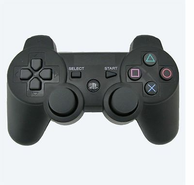 Playstation 3 Ps3 Dualshock Wireless Controller-Black