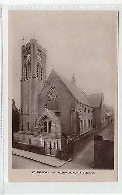 ST ANDREW'S PARISH CHURCH, NORTH BERWICK: East Lothian postcard (C25890)