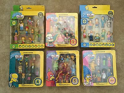 NIB The Simpsons Limited Edition Figurine Collection Series 1, 2, 3, 4, 5 AND 6