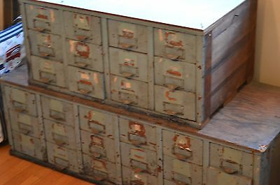 Vintage Industrial chests