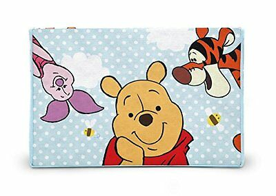 Disney Winnie the Pooh Collapsible Fabric Toy Box  Blue