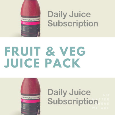 Subscribe for a Daily Fruit & Veg Juice Pack